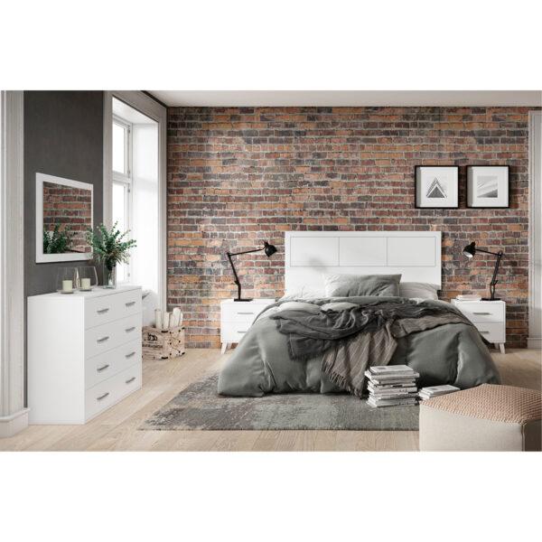Dormitorio de matrimonio New Plus 01 completo