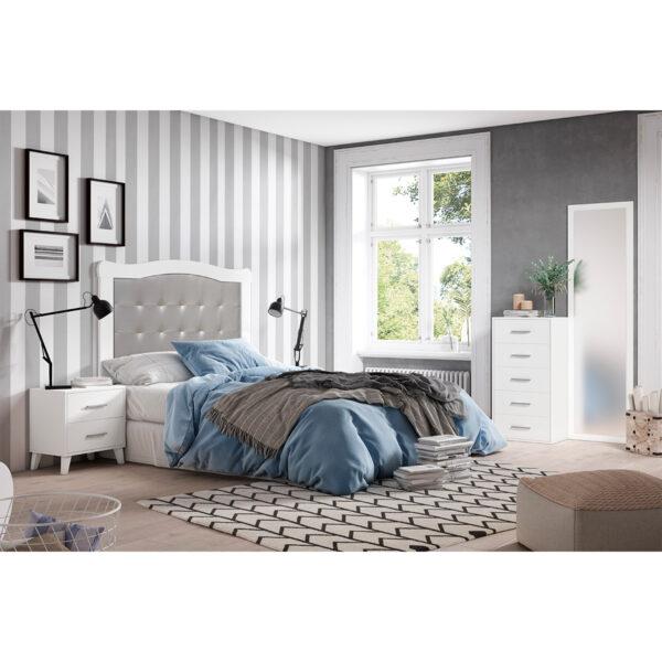 Dormitorio de matrimonio New Plus 02 completo