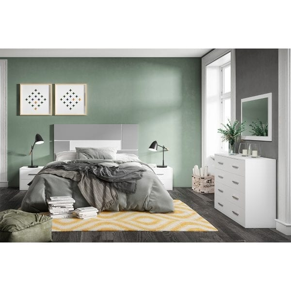 Dormitorio de matrimonio New Plus 03 completo