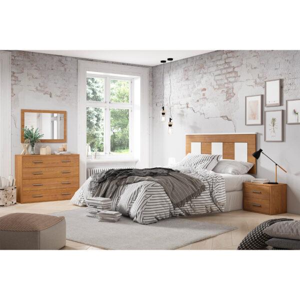 Dormitorio de matrimonio New Plus 04 completo