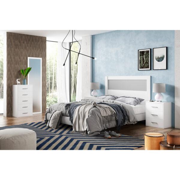 Dormitorio de matrimonio New Plus 05 completo