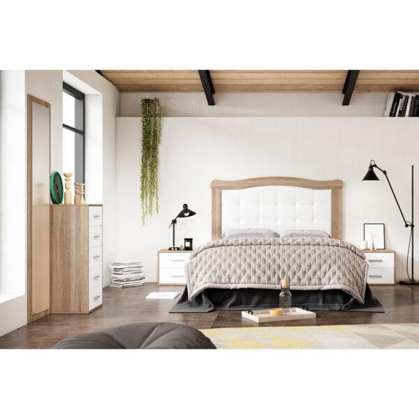 Dormitorio de matrimonio New Plus 07 completo