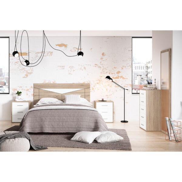 Dormitorio de matrimonio New Plus 08 completo
