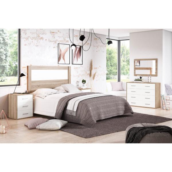 Dormitorio de matrimonio New Plus 09 completo