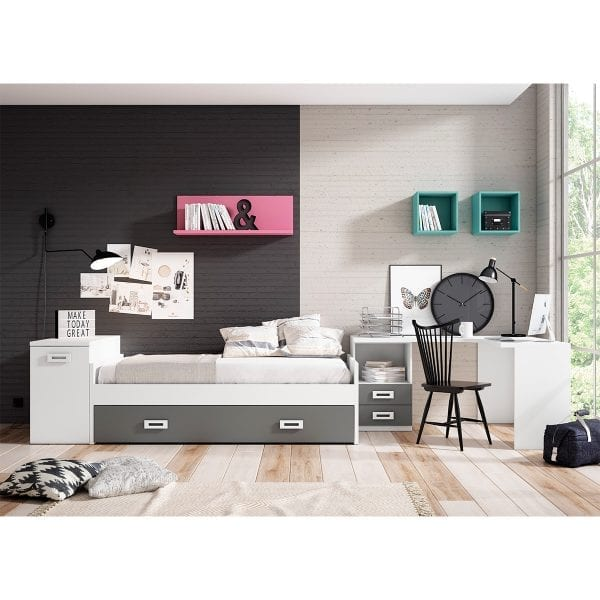 Dormitorio juvenil Iron 05