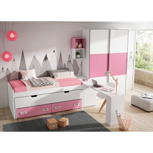 Dormitorio juvenil Iron 08