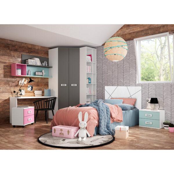 Dormitorio juvenil Iron 12