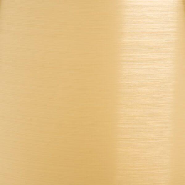 Lámpara de mesa espejo-oro-cristal-tejido, 40,5x40,5x55 cm