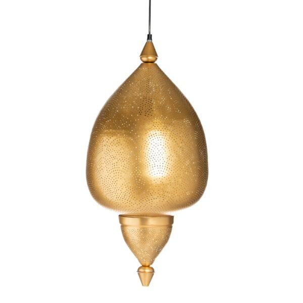 Lámpara de techo oro hierro, 35x35x68 cm