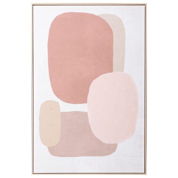 Cuadro impresión abstracto lienzo, 88,5x4,5x122,5 cm