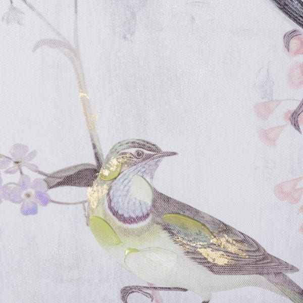 Cuadro impresión pájaros lienzo, 80x4,5x120 cm