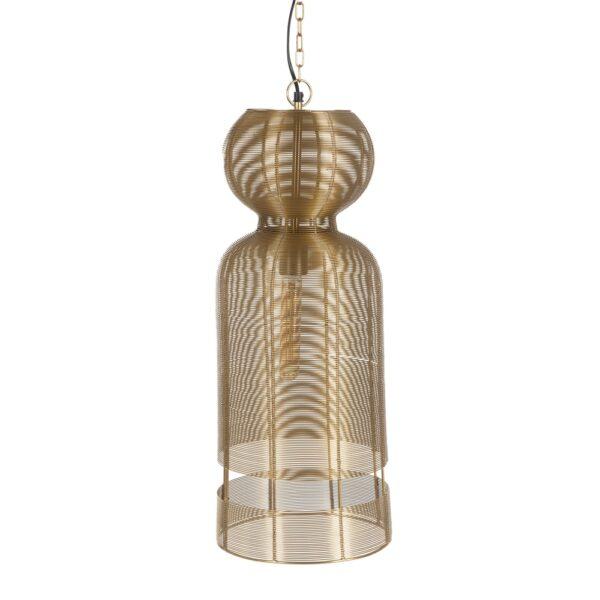 Lámpara de techo oro, 26x26x66,5 cm