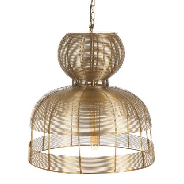 Lámpara de techo oro, 40,5x40,5x44 cm