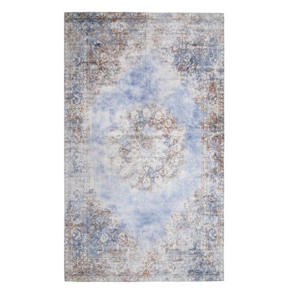 Alfombra poliéster-algodón Adana, 200x300 cm