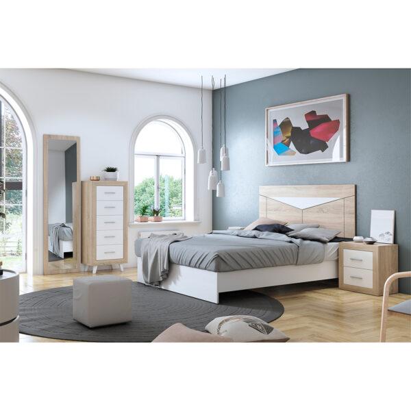 Dormitorio de matrimonio New Promo 03 completo