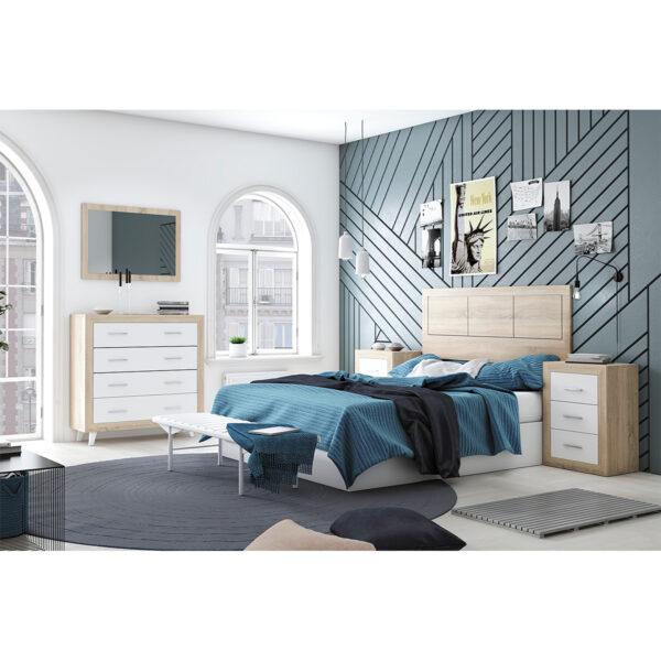 Dormitorio de matrimonio New Promo 05 completo