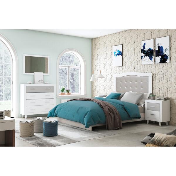 Dormitorio de matrimonio New Promo 06 completo