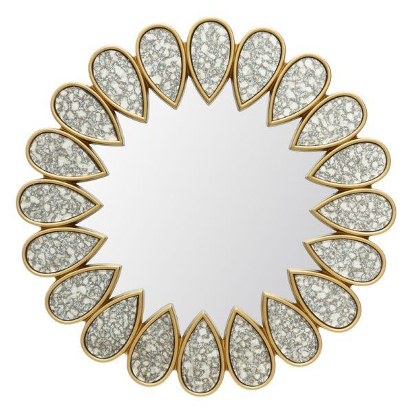 Espejo oro DM-cristal