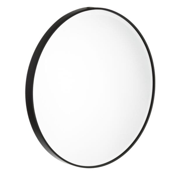 Espejo negro aluminio-cristal