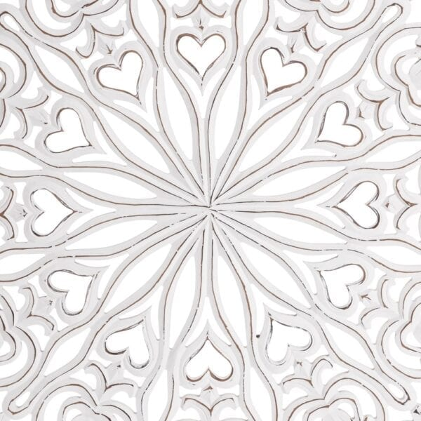 Mural pared blanco rozado, 120x2,2x220 cm