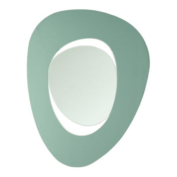 Espejo verde cristal