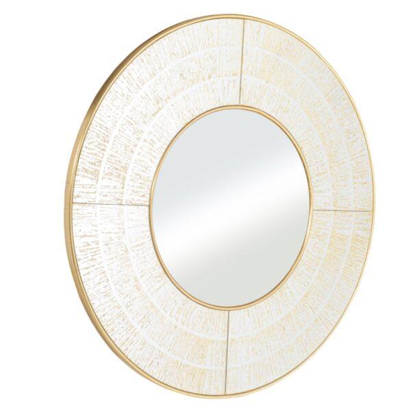 Espejo oro cristal