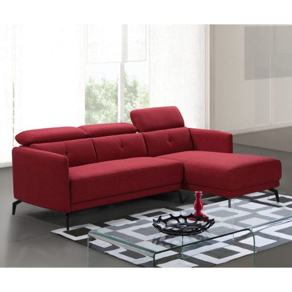 Chaise longue Nasira con ambiente