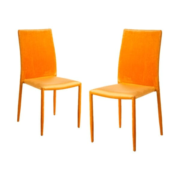 Juego de 2 sillas terciopielo oro salón