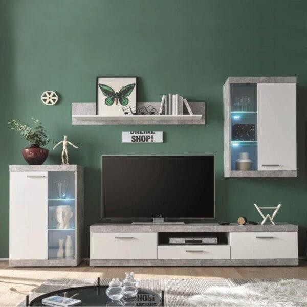 Mueble de salon Catlin 255 cm