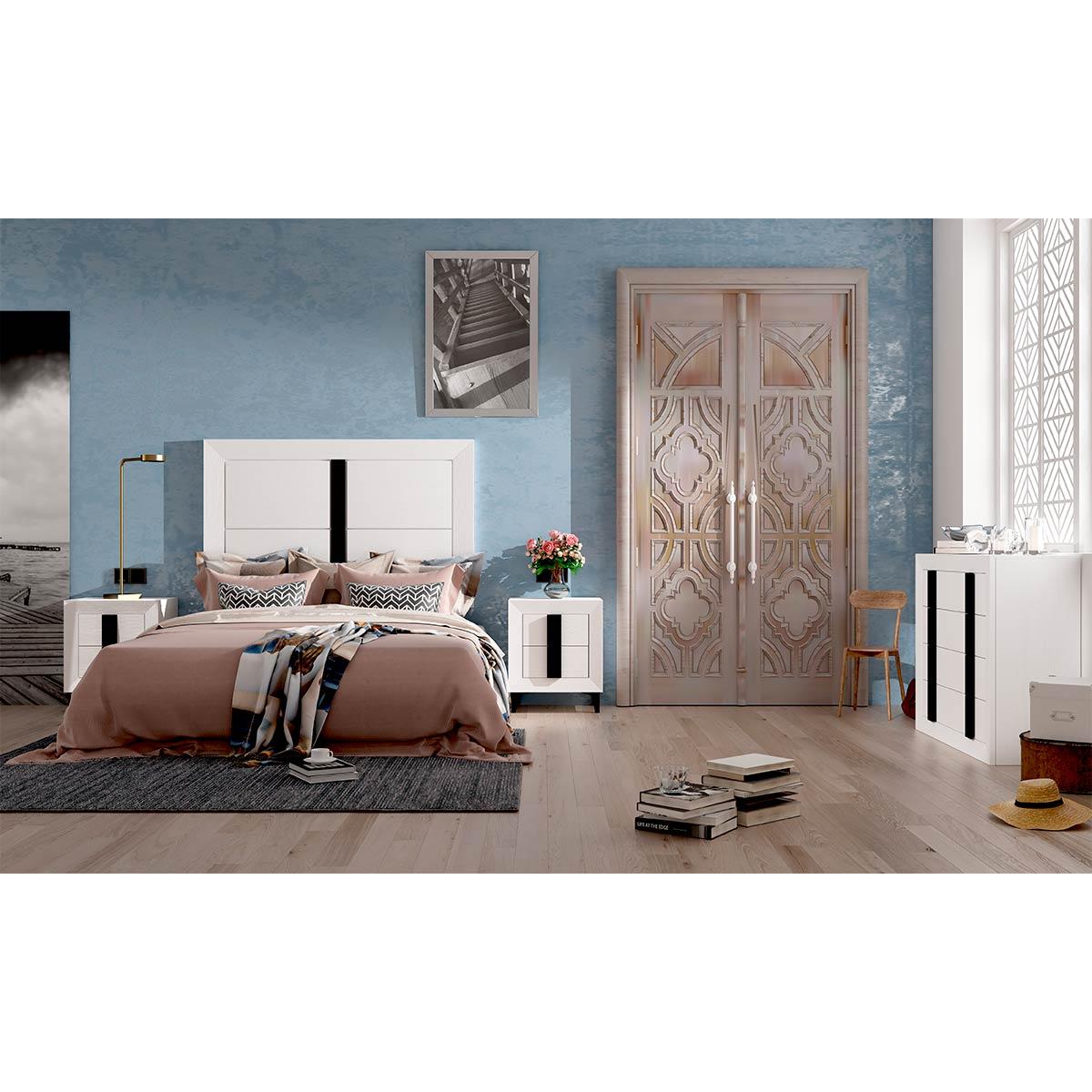 Dormitorio de matrimonio Viena 01 completo