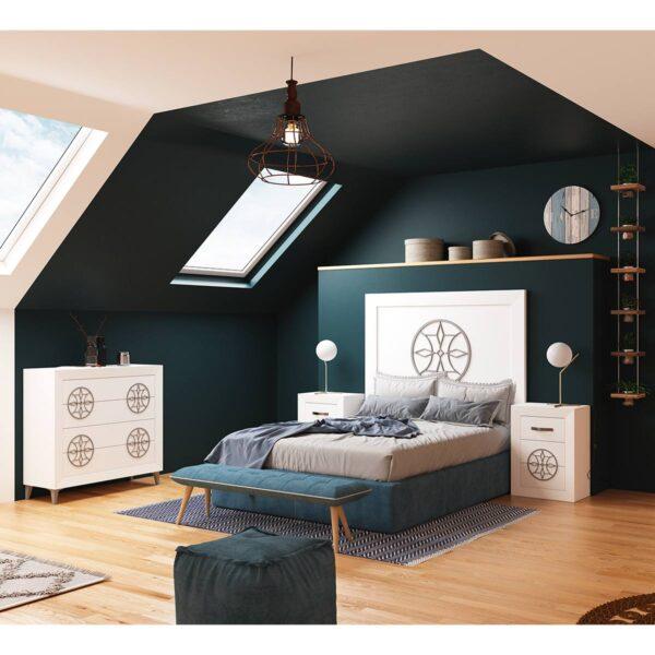 Dormitorio de matrimonio Viena 06 completo
