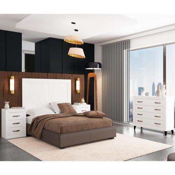 Dormitorio de matrimonio Viena 09 completo