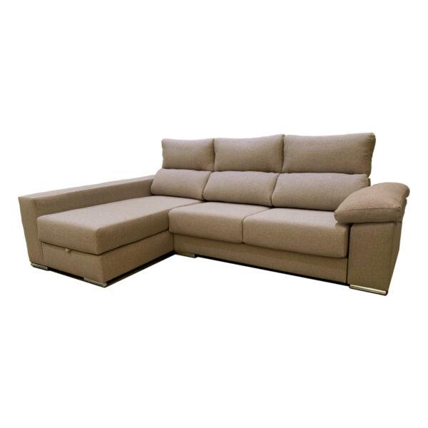 Chaise longue Confort visto izquierdo tela Nido 7 inicio