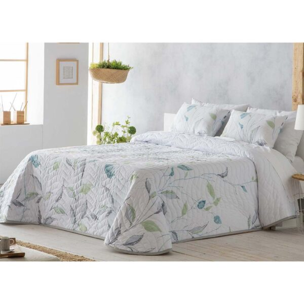 Colcha de cama Kenai blanco