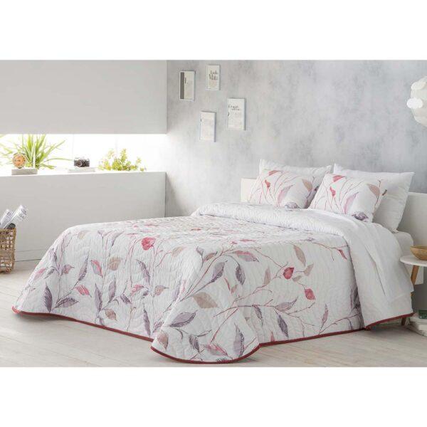 Colcha de cama Kenai rojo