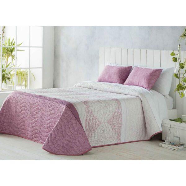 Colcha de cama Mica rosa