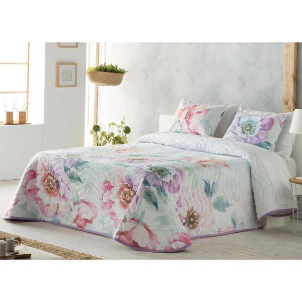 Colcha de cama Silvana violeta