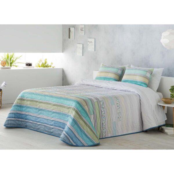 Colcha de cama Tito azul