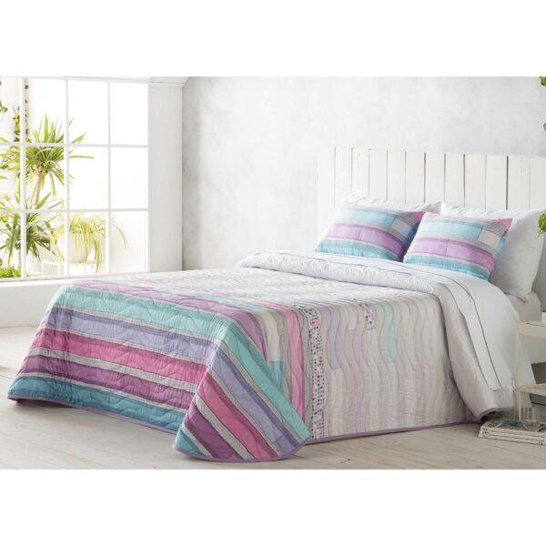 Colcha de cama Tito rosa