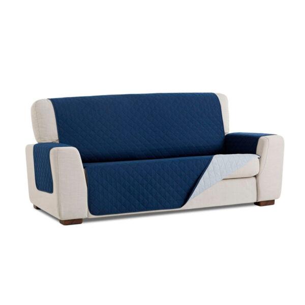 Cubre sofa Azul marino fondo blanco