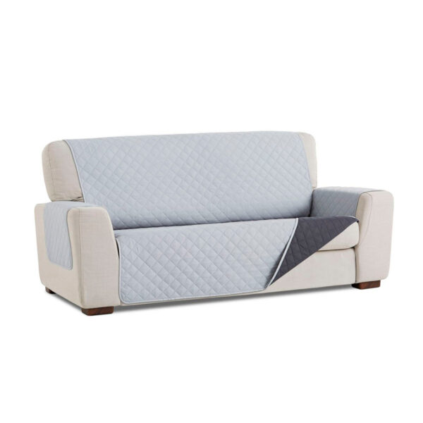 Cubre sofa Gris claro fondo blanco