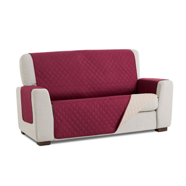 Cubre sofa Malva fondo blanco