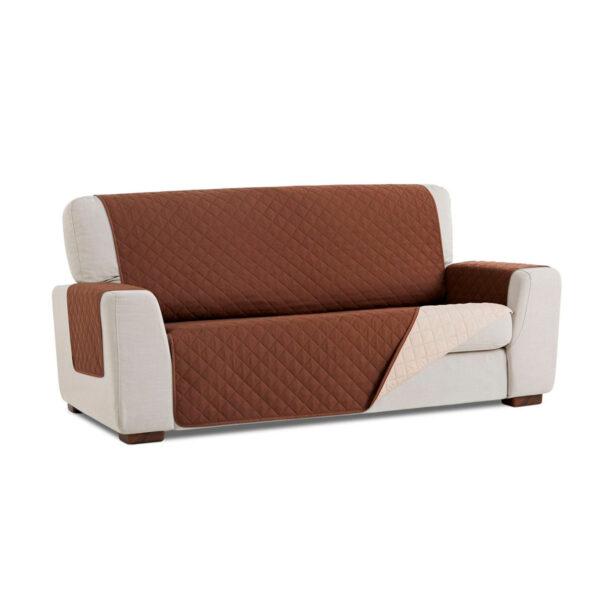 Cubre sofa Marron fondo blanco