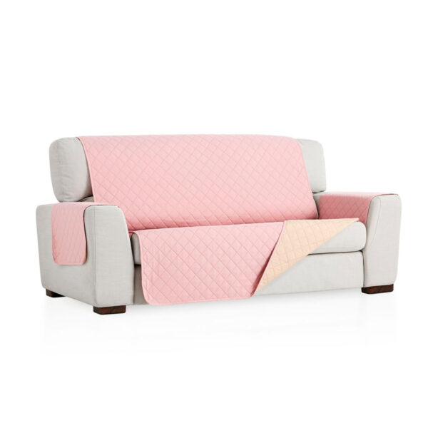 Cubre sofa Rosa fondo blanco